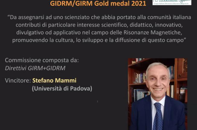 Collegamento a 2021 GIDRM/GIRM Gold Medal Stefano Mammi
