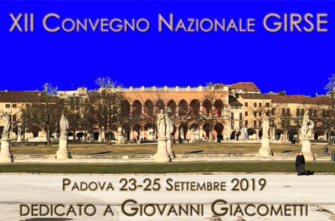 Collegamento a Convegno GIRSE in memoria di Giovanni Giacometti