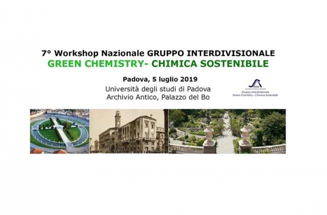 Collegamento a VII Workshop Nazionale Gruppo Interdivisionale Green Chemistry – Chimica Sostenibile, Società Chimica Italiana